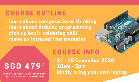CODE & MAKE Physical Camp – Build Your Own IR Thermometer